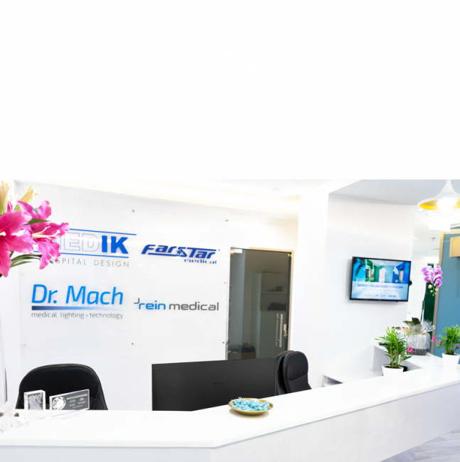 Dubai Healthcare City, Showroom Rein Medical